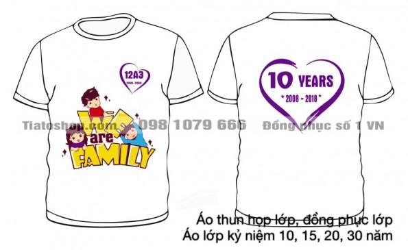 logo kỷ niệm 10 năm ngày ra trường