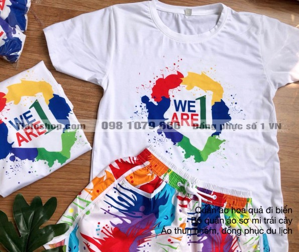 Đồng phục nhóm we are one 1