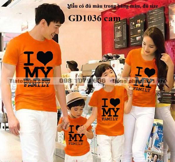 Đồng phục I love Family