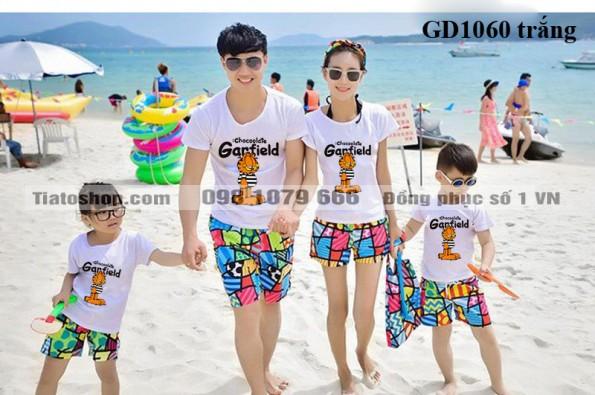 Đồng phục áo gia đình đẹp tại Hà Nội