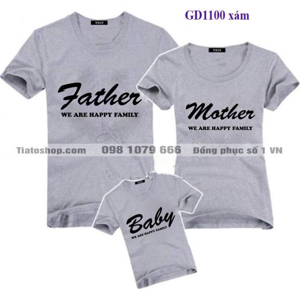 Đồng phục gia đình - Father-mother-baby