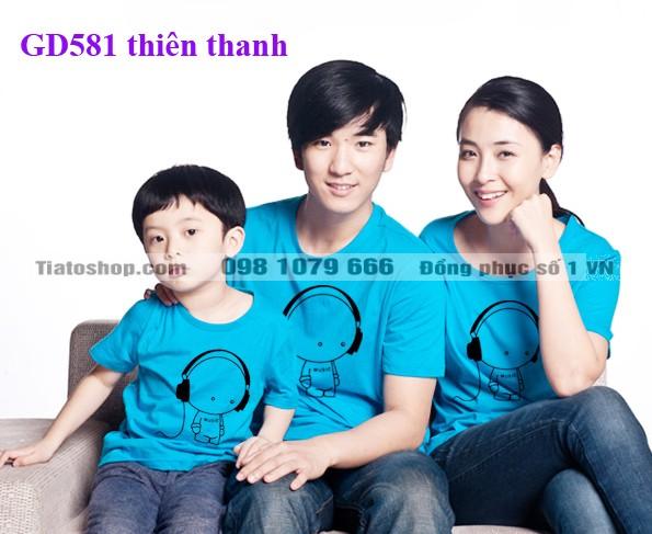 Đồng phục gia đình ngộ nghĩnh tại Hà Nội