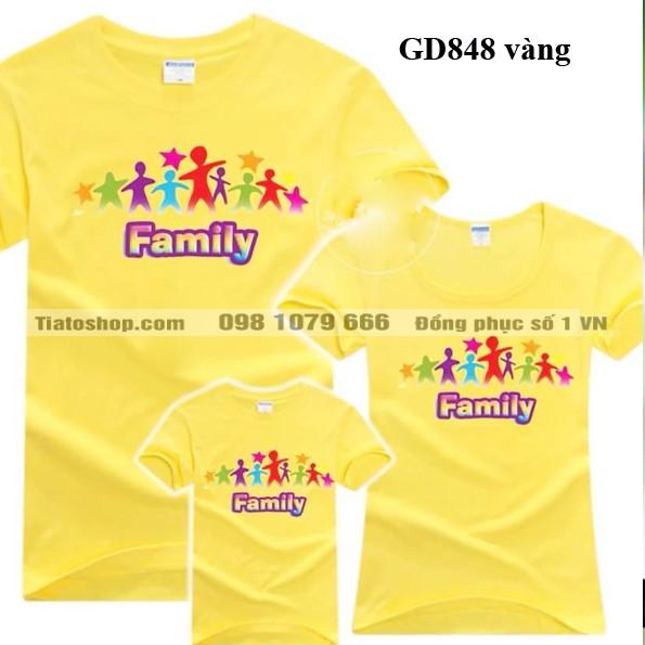 Đồng phục áo gia đình giá rẻ