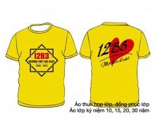 Áo kỷ niệm ra trường màu vàng
