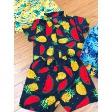Bộ đồ hình trái cây cho bé