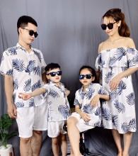 Áo váy gia đình
