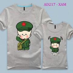 Đồng phục gia đình quân nhân