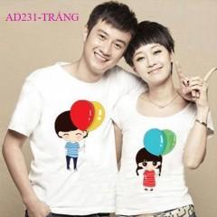 Áo cặp tình yêu dễ thương tại Hà Nội