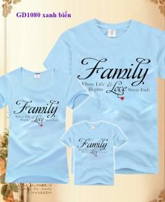 Áo gia đình - Family
