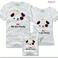 Áo gia đình - màu trắng
