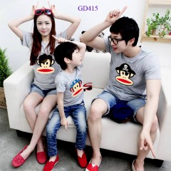 Mẫu áo gia đình hot 2014