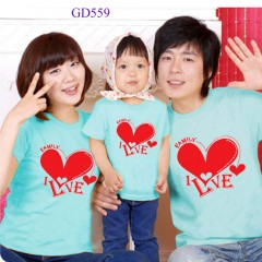Áo phông gia đình đẹp, rẻ