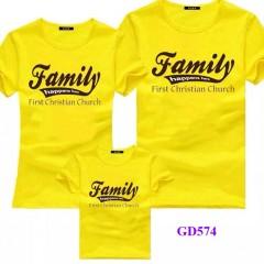 Áo gia đình mầu vàng