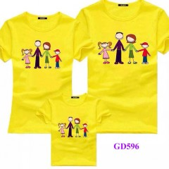 Xưởng in áo gia đình theo yêu cầu