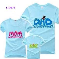 Áo gia đình Dad, mom, Baby