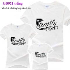 Đồng phục áo gia đình tại Bình Định