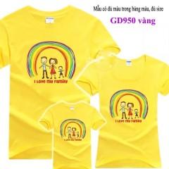 Đồng phục áo gia đình giá rẻ tại Hà Nội