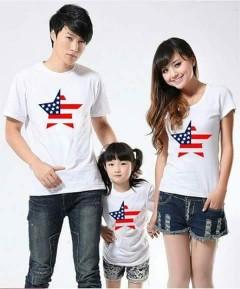 Áo gia đình tại Hà nội cờ mỹ