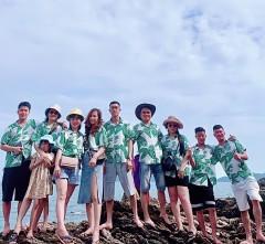 Áo team đi biển