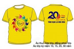Áo kỷ niệm 20 năm thành lập trường
