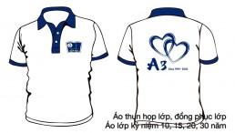 Áo đồng phục kỷ niệm ra trường