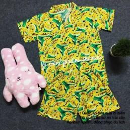 Bộ quần áo hoa giá rẻ tại tphcm, hn