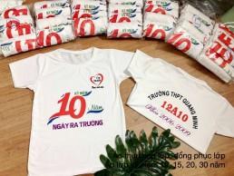 Áo kỷ niệm 10 năm ra trường