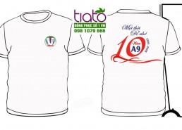 Logo áo kỷ niệm 10 năm ra trường