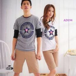 Áo đôi, áo cặp đẹp, phong cách Hàn Quốc