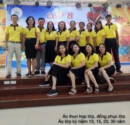 Áo họp lớp màu vàng