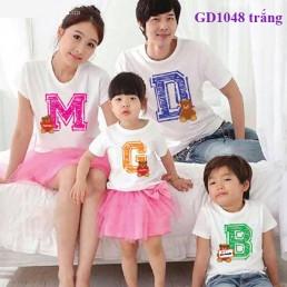 Áo gia đình theo chữ cái