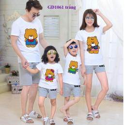 Đồng phục gia đình nhà Gấu