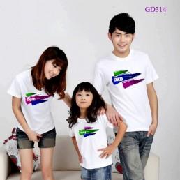 Mẫu áo gia đình mới 2014
