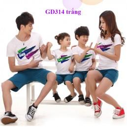 Mẫu áo gia đình đẹp tại Hà Nội
