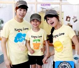 In áo gia đình tại Hà Nội