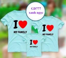 Đồng phục áo gia đình tphcm