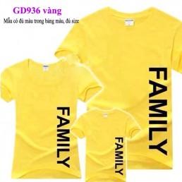 Đồng phục áo gia đình tại Hòa Bình
