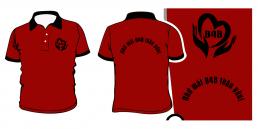 áo đồng phục lớp màu đỏ