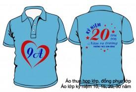 Áo đồng phục kỷ niệm 20 năm ra trường