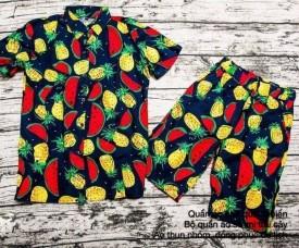 Quần áo hoa quả đi biển