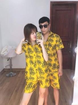 Đồ bộ nhóm du lịch cây dừa
