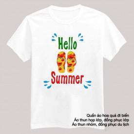 Đồng phục du lịch mùa hè hello summer
