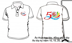 Logo kỷ niệm 20 năm ngày ra trường
