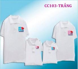 Mẫu đồng phục áo thun có cổ tại Hà Nội