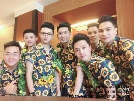 Áo nhóm hoa hướng dương