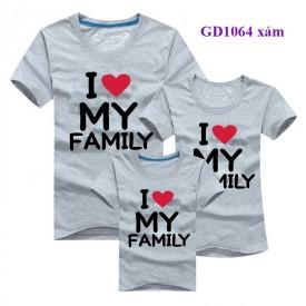 I Love my Family Đồng phục