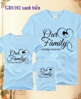 Đồng phục áo gia đình-Family