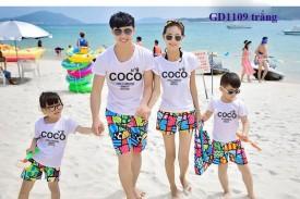 Đồng phục áo đi biển-COCO
