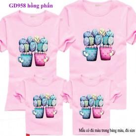 Mua áo đôi, áo gia đình online tại Hà Nội