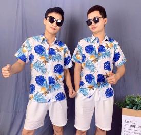 Áo hoa đi biển